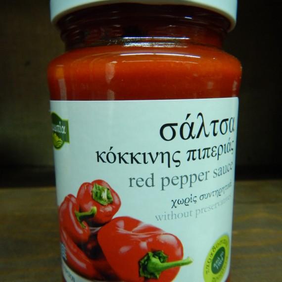 σαλτσα κοκκινης πιπεριας