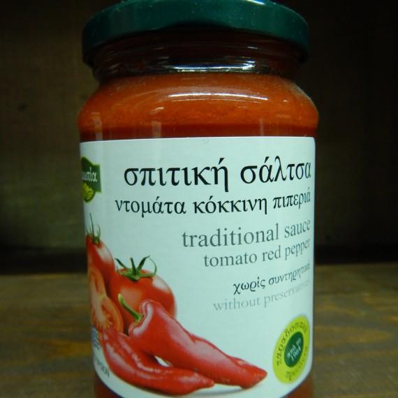 σαλτσα ντοματα-κοκκινη πιπερια